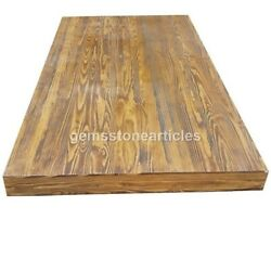 Solid Wood Tabletop Coffee Table And Dining Table / Oak Top Acacia Wooden Tables