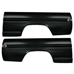 19701972 Ford Truck Bedside Assembly 6.5 Styleside W/rear Corner Panel Pair