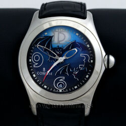 Corum Bubble Bats Special Edition 082.150.20 Stainless Steel W/box Papers 2005