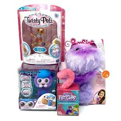 Kids Toy Lot Twisty Petz Wrapples Shora Pomsies Boots And Lps Plush Blind Box