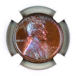 1919-d Ms65 Bn Ngc Lincoln Wheat Penny Superb Registry Quality Collection