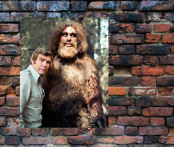Bionic Man Bigfoot Poster Lee Majors Andre The Giant 10 X 12 Great To Display