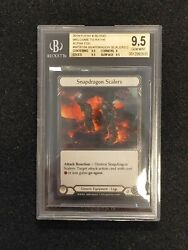 Welcome To Rathe Alpha Print Snapdragon Scalers Cold Foil - Bgs 9.5 📈