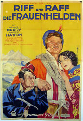 Wife Savers / Wallace Berry / 1928 / Ralph Ceder / Movie Poster/48
