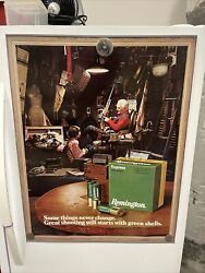 Vintage Remington Arms Poster - Next Generation Some Things Never Change Mint