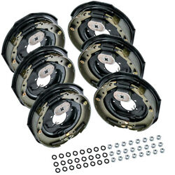 6x 12 X 2 Electric Trailer Brake Assembly Left Right Side 7000 6000 Axle Brakes