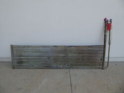 Used Heating Cooling Coil - Stainless Steel 24lx97wx24h Grid Heating Coil Hc2