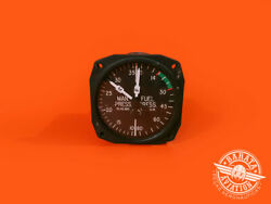 Fuel And Manifold Pressure Indicator - P/n 22-469-01-a