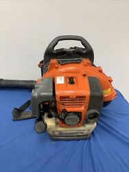 Husqvarna 150bt 50cc 2 Cycle Gas Commercial Leaf Backpack Blower - Tested