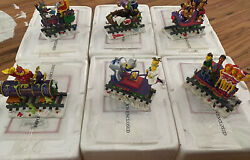 Hamilton The Simpsons Christmas Express 22 Piece Train Lot - Preowned