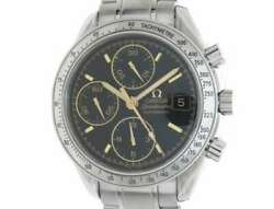 Free Shipping Pre-owned Omega Watch Speedmaster Date 3513.54 Japan Limited