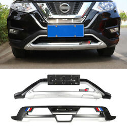 Fit For Nissan Rogue X-trail 2017-2020 Front Rear Bumper Diffuser Spoiler Board