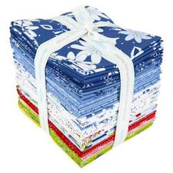 Conservatory Fat Quarter Bundle Includes 27 Pces By Jill Finlay Of Jilily Studio