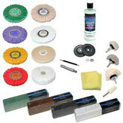 Zephyr 21 Piece Professional Buffing Kit
