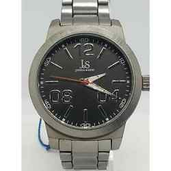 Jands Joshua And Sons Large Silver Menandrsquos Watch Js82