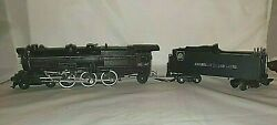 The A.c. Gilbert Co 312 American Flyer K-5 Locomotive And Tender