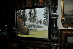Antique Victorian Home By Well Listed American Artist Carl Funseth