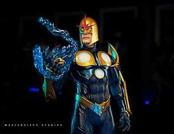 Custom Nova 1/4 Statue Not Sideshow Collectibles Not Silver Surfer Galactus