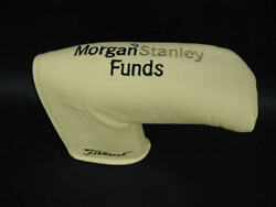 Scotty Cameron Golf Cover Pga Special Event Morgan Stanley Funds Putter Cover