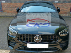 Class Amg Panamericana Grille Gloss Black W213 C238 A238 From 2020 Onwards