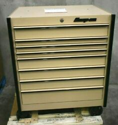 Snap-on Krl1056cpzs 36 8-drawer Single Bank Masters Series Roll Cab Tool Box