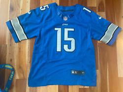 Golden Tate Iii Detroit Lions Nike On Field Nfl Sewn Stitched Jersey Size 40