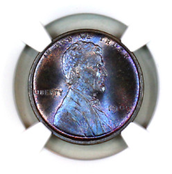 1909 Vdb Ms67 Bn Ngc Lincoln Wheat Penny Registry Quality Collection