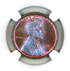 1912-p Ms65 Bn Ngc Lincoln Wheat Penny Superb Registry Quality Collection