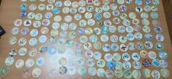 Lot Of Over 260 Pokemon Tazos Walkers Pogs Nintendo Cheetos Different Sets Cello