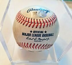 Juan Soto Single Base Hit 235 T Bauer 8/19 Mlb Authenticated Game Used Baseball