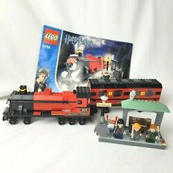 Lego 4758 Harry Potter Hogwarts Express Complete With Instructions And Mini Figs