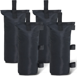 Abccanopy Sand Bags Canopy Tent Weights,4 Pack Black