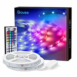 Govee Led Strip Lights 65.6ft Rgb Light Strip With Remote Control 600 Bright ...