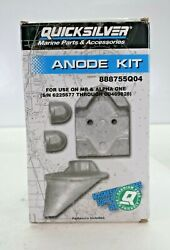 Quicksilver Marine Parts Anode Kit 888755q04 For Use On Br And Alpha One New