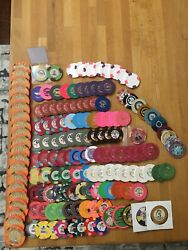 New Lots/pics Added - Assorted Collectible Casino Poker Chips