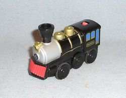 Lionel Mogul Powered Train Locomotive - Works With Thomas Brio Other Wood Sets
