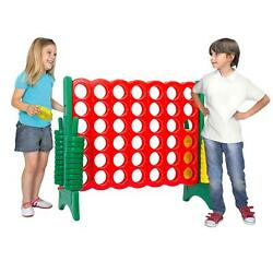 Yard Games Giant 4 In A Row Game Big Fun For Adults Teen Connect Party Green