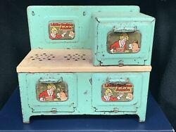 Vintage Marx Little Orphan Annie Electric Stove Ready For Display Restore