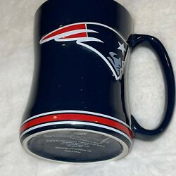 Nfl New England Patriots Coffee Mug Cup Sculpted Ceramic 2018 Fan Collectable