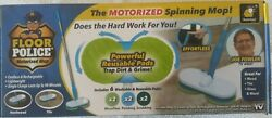 Original Floor Police Motorized Spin Mop By Bulbhead Cordless/rechargeable Mop