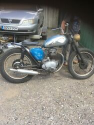 1963 Bsa B40 350 Trail Or Road Great Project Tidy Great Barn Find Look