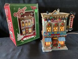 Department 56 - A Christmas Story Village Lighted Building - The Joke Shop