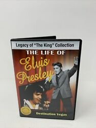 The Life Of Elvis Presley Legacy Of The King Collection Destination Vegas Dvd