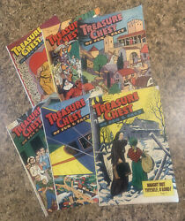 Treasure Chest Of Fun And And Fact Religious Christian Catholic Comic Book Lot 6
