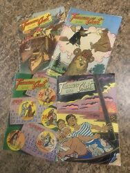 Treasure Chest Of Fun And And Fact Religious Christian Catholic Comic Book Lot 4
