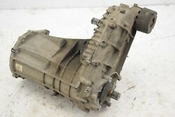 Vw Touareg 7p 4.2tdi Front Axle Transmission Gearbox Differential Transfer Box