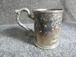 Antique Coin Silver Cup By Rogers Brothers