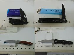 Lot Of 62 Valor And Super Knife New Old Stock Close Out Knives, 62 Pieces V4