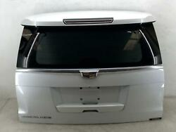 2015 2016 Cadillac Escalade Liftgate Trunk Lid Shell Privacy Tint Ako White