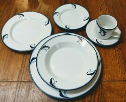Dansk Flora Bayberry And Allegro Set Of 11 Full Place Settings Perfect Conditionandnbsp